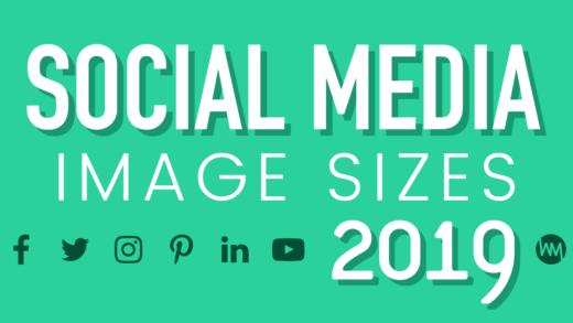 Social Media Image Sizes 2019