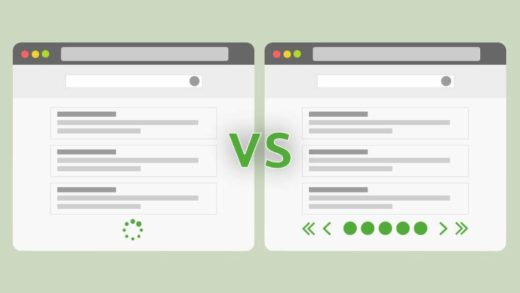Infinite Scrolling vs Pagination