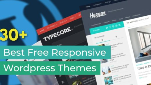30 Best Free Responsive Wordpress Themes