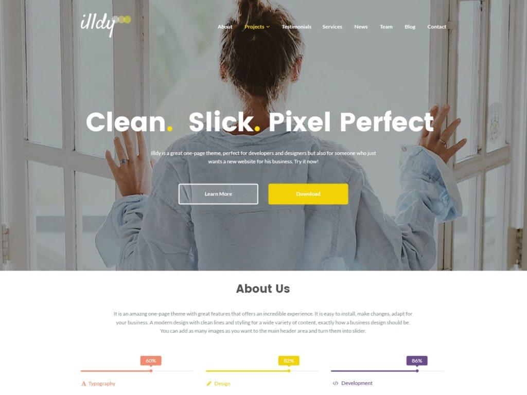 Illdy WordPress Theme