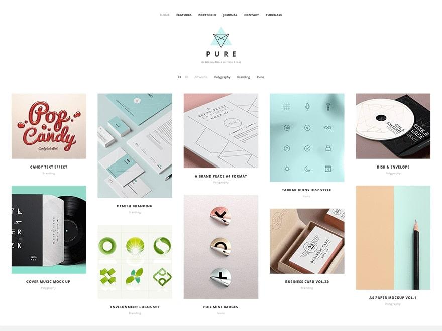 Pure WordPress Theme